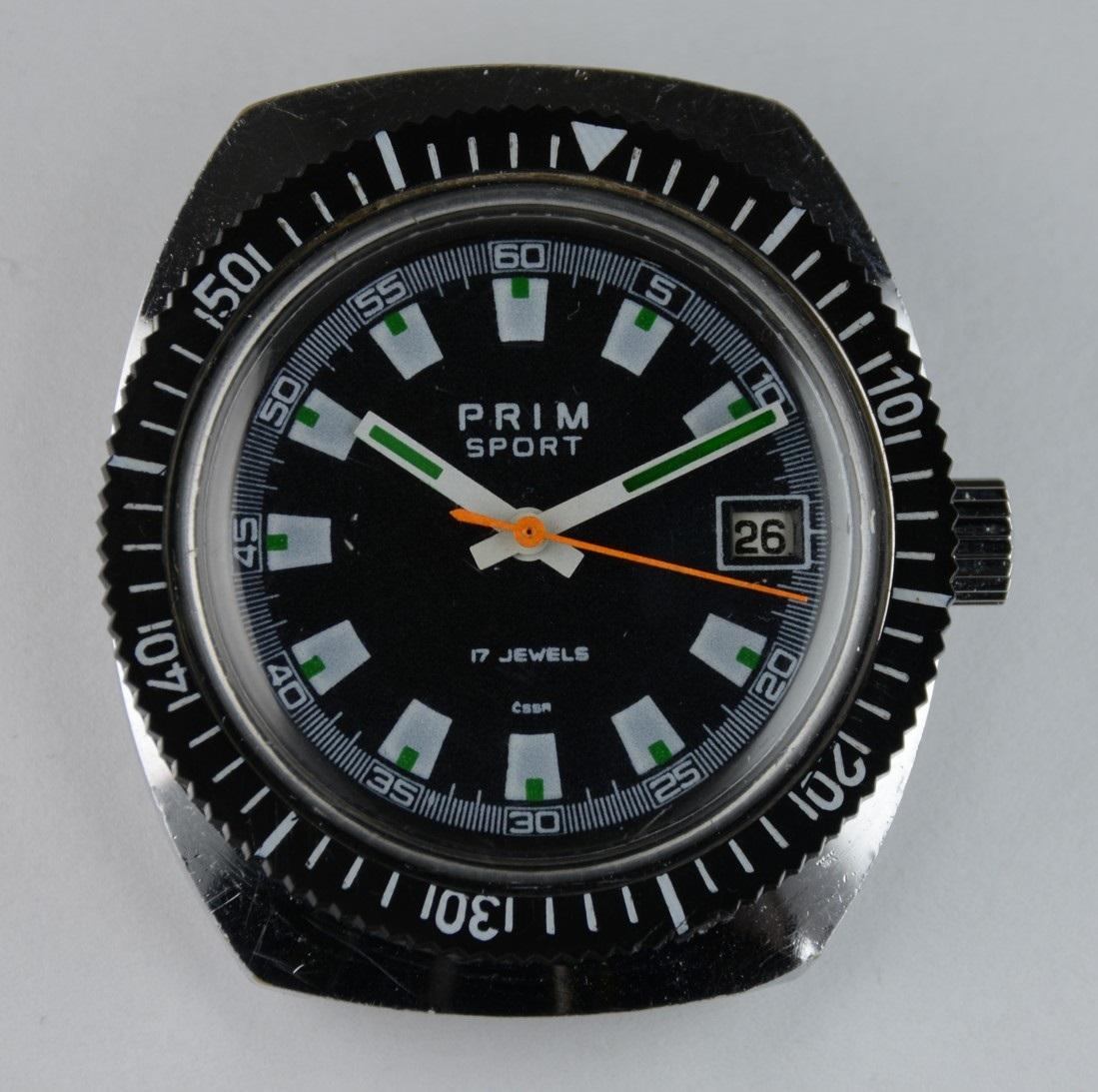PRIM 68 399 1 | Rok vzniku: 1980 | Velikost pouzdra: 36x41 mm | Typ zadního víka:  šroubovací